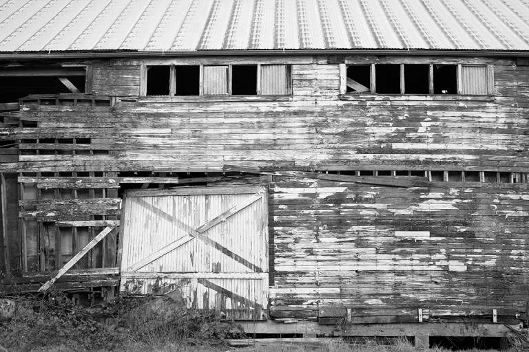 Old Relic of a Building | La Conner, WA