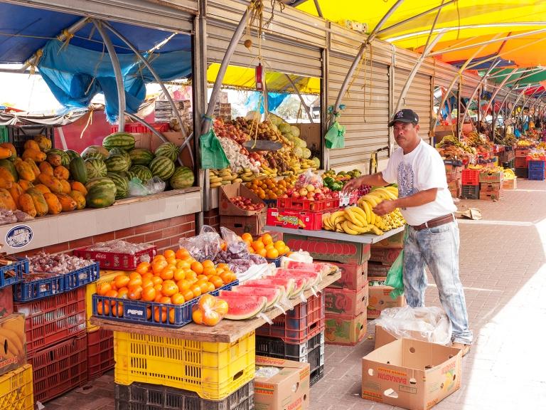 Floating market merchant | Willemstad, Curaçao