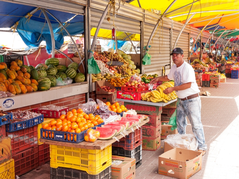 Floating market merchant | Willemstad, Curaçao