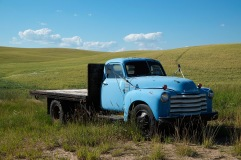 Old blue truck | Palouse, Washington