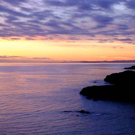 Sunset at Grandma's Cove, San Juan Island | Washington